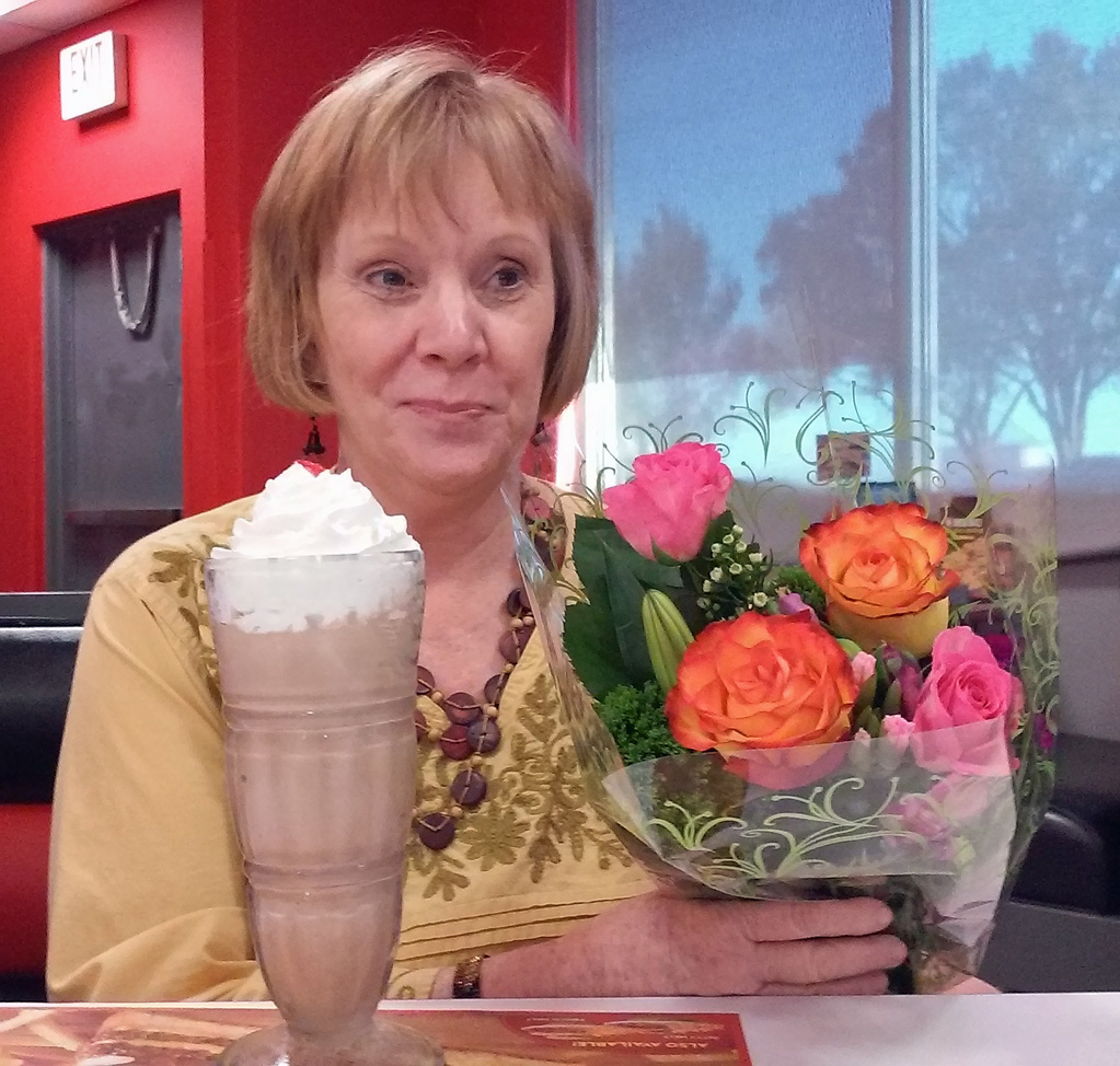 Ellen celebrates the end of radiation treatments