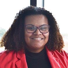 Stevara Clark, doctoral student in the VCU School of Education.