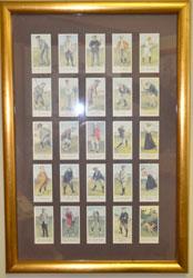 Auction Golfer Cards