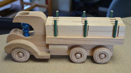 Toy Logging Truck