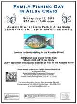 Family Fishing Day Ailsa Craig July 12