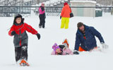 Family Day WinterFest free family snowshoeing