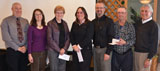 Ausable Bayfield Conservation staff honoured for years of service.