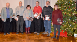 Retiring committee members thanked for years of dedicated service.