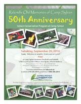 September 20 is 50th Anniversary of Sylvan Conservation Program at Camp Sylan