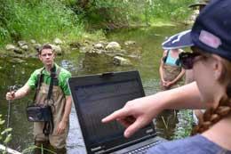 Job posting for Aquatic Resources Technician.