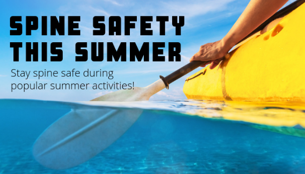 Stay Spine Safe during popular summer activities with these tips from First State Spine!