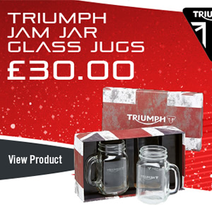 Triumph Jam Jar Glass JUGS
