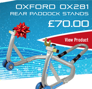 Oxford OX281 rear paddock stands