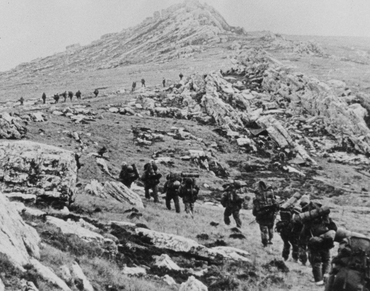 Photograph of Falklands War