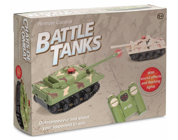 Battle tank toy box