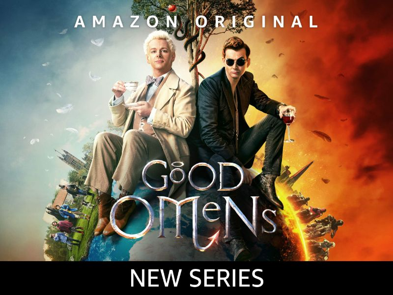 Good Omens promo poster - Amazon original series