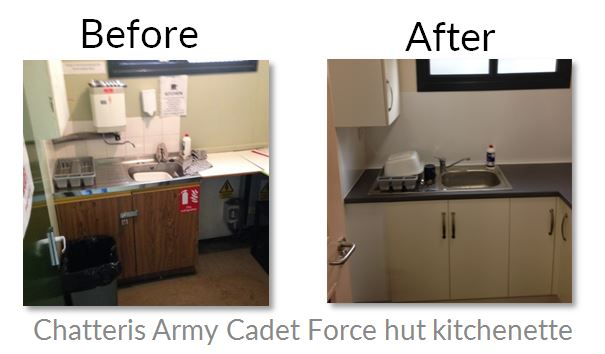 Chatteris Army Cadet Force hut refurbishment