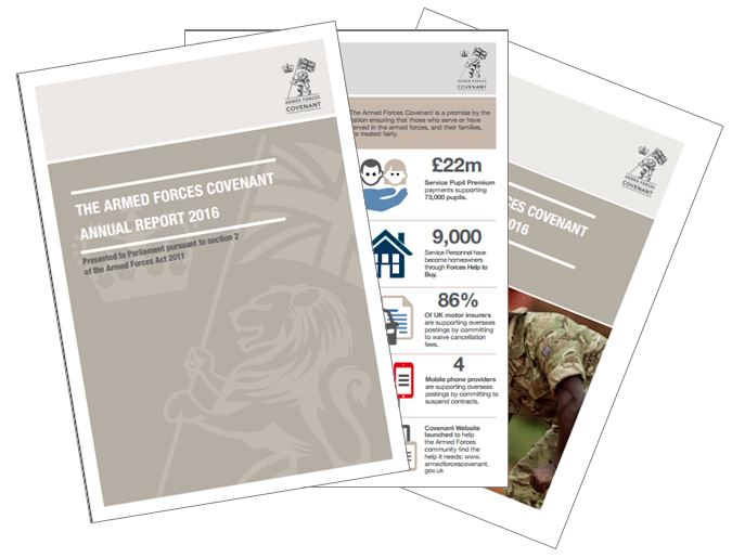 Armed Forces Covenant Annual Report 2016
