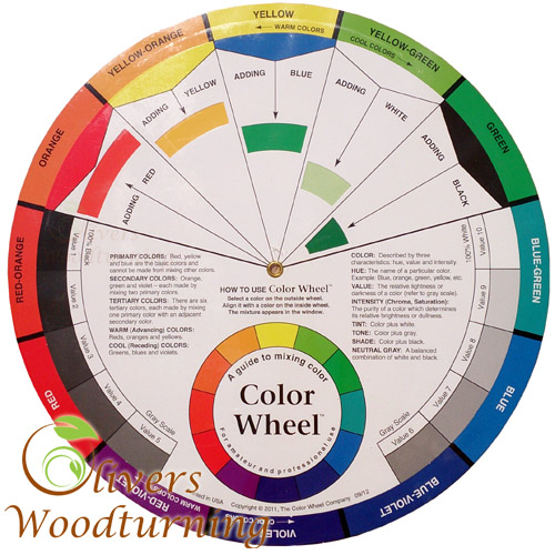 Golden Artist Colors Colour Wheel