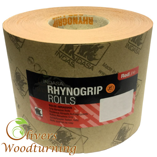 Rhynogrip Red Line Velcro Backed Abrasive