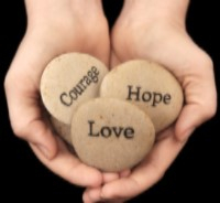 Success in business requires courage, hope and love