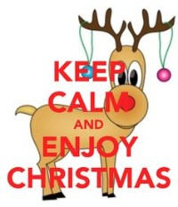 Keep calm and enjoy Christmas with Christmas Calm Aromatic Mist