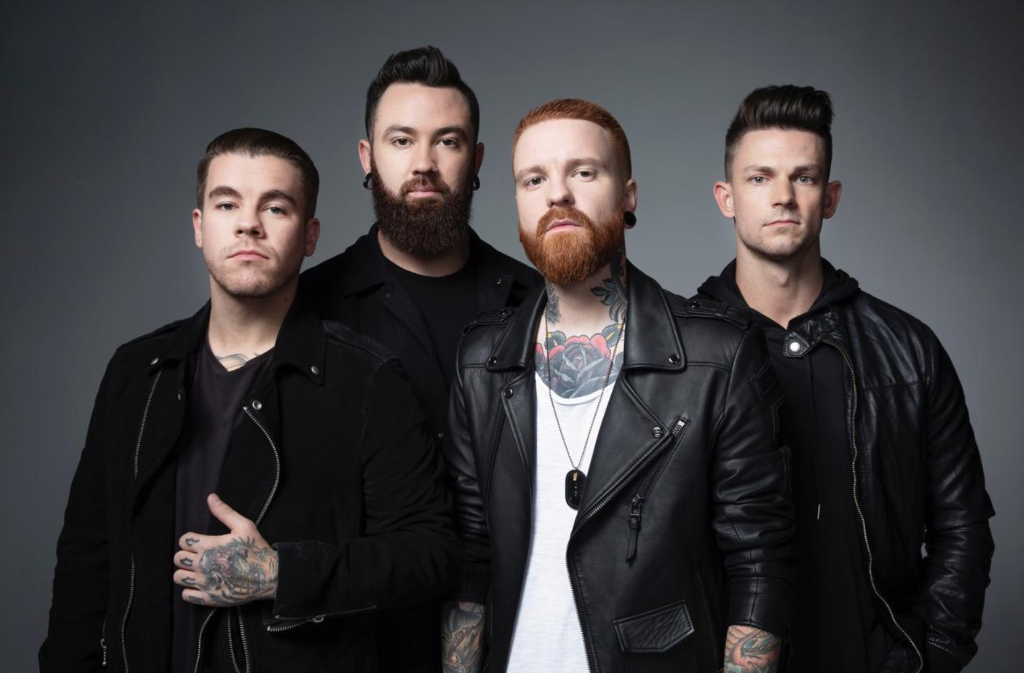"MEMPHIS MAY FIRE + REVOLVER PREMIERE ""THE OLD ME"" VIDEO"