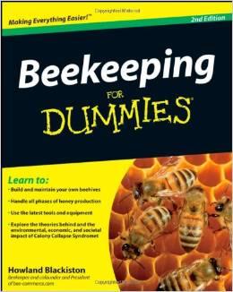 Beekeeping for dummies book