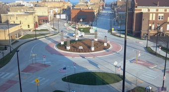 Racine Roundabout Photo