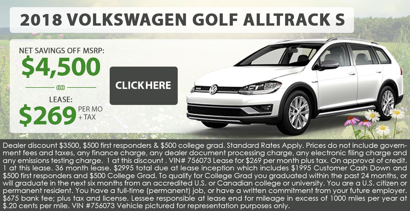 2018 Volkwagen Golf Alltrack S