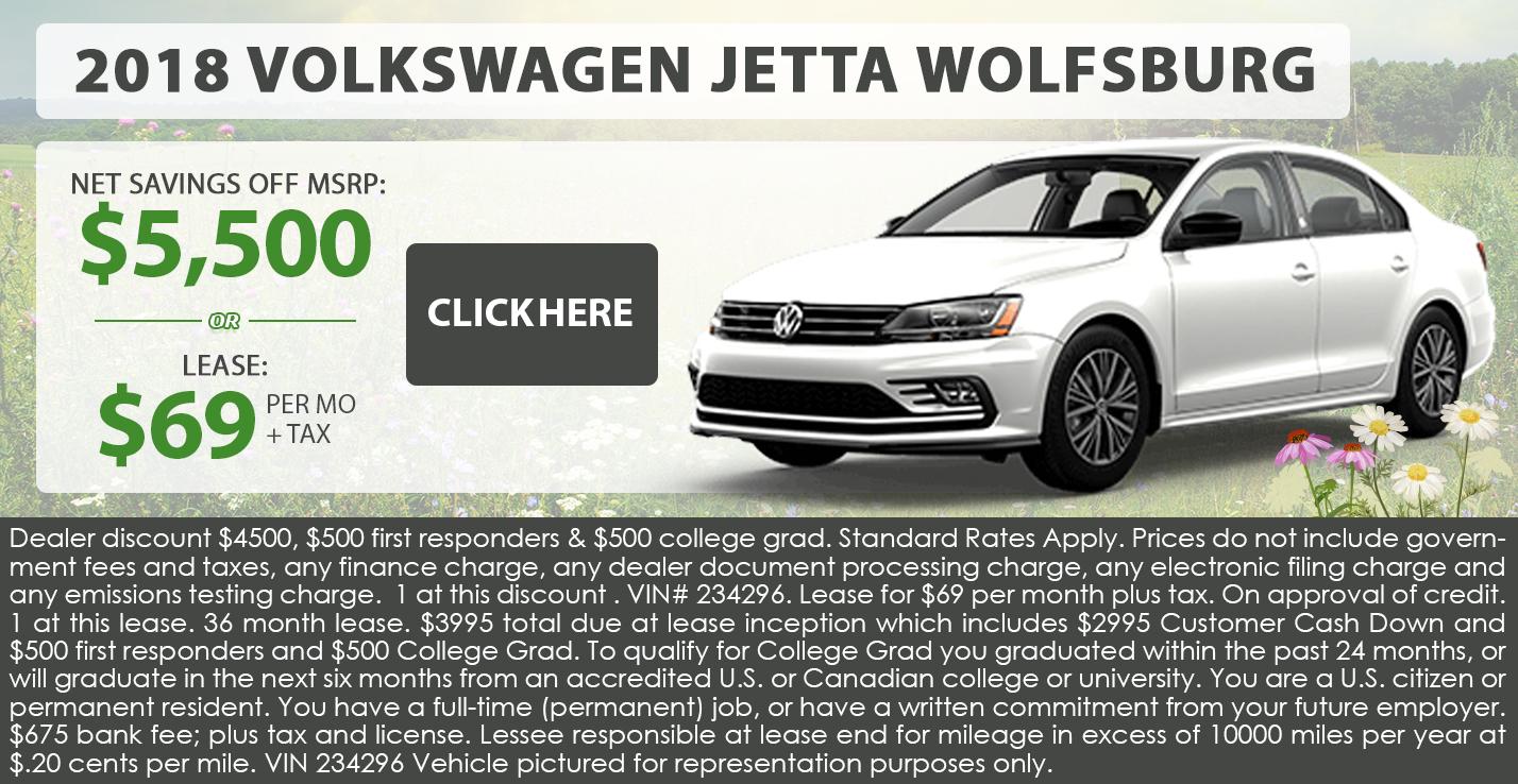 2018 Volkswagen Jetta Wolfsburg