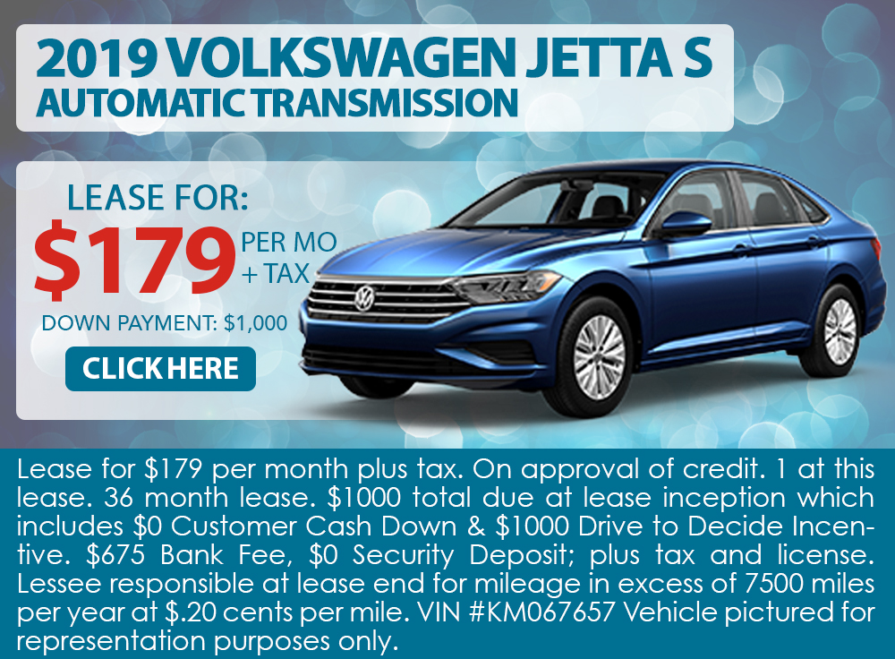 2019 Volkswagen Jetta S Automatic Transmission