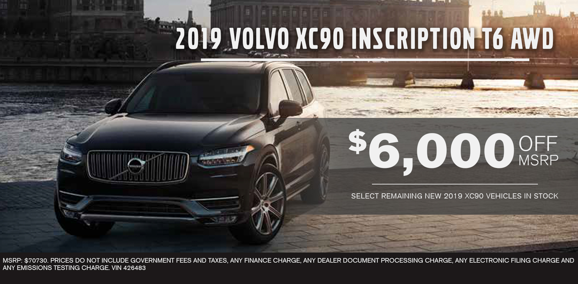 2019 Volvo XC90 Inscription T6 AWD