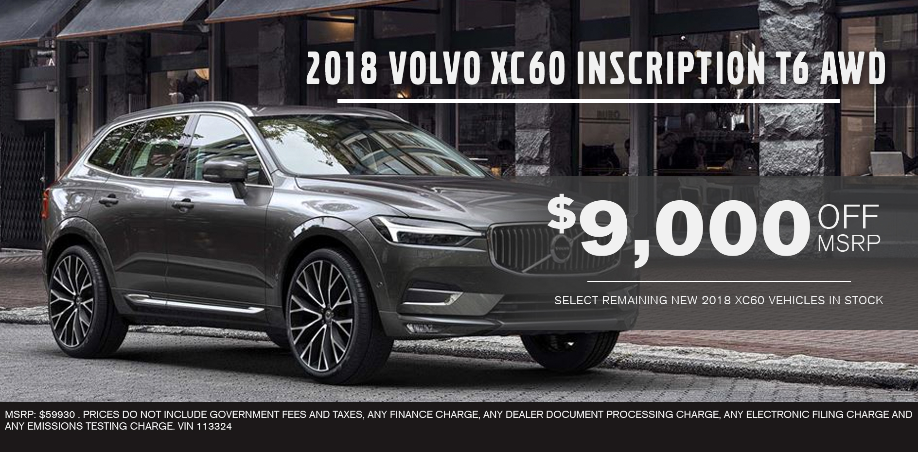 2018 Volvo XC60 Inscription T6 AWD