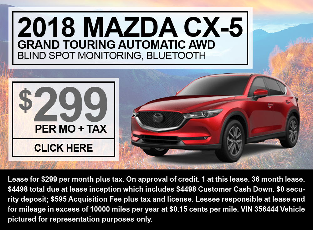 2018 Mazda CX-5 Grand Touring Automatic AWD