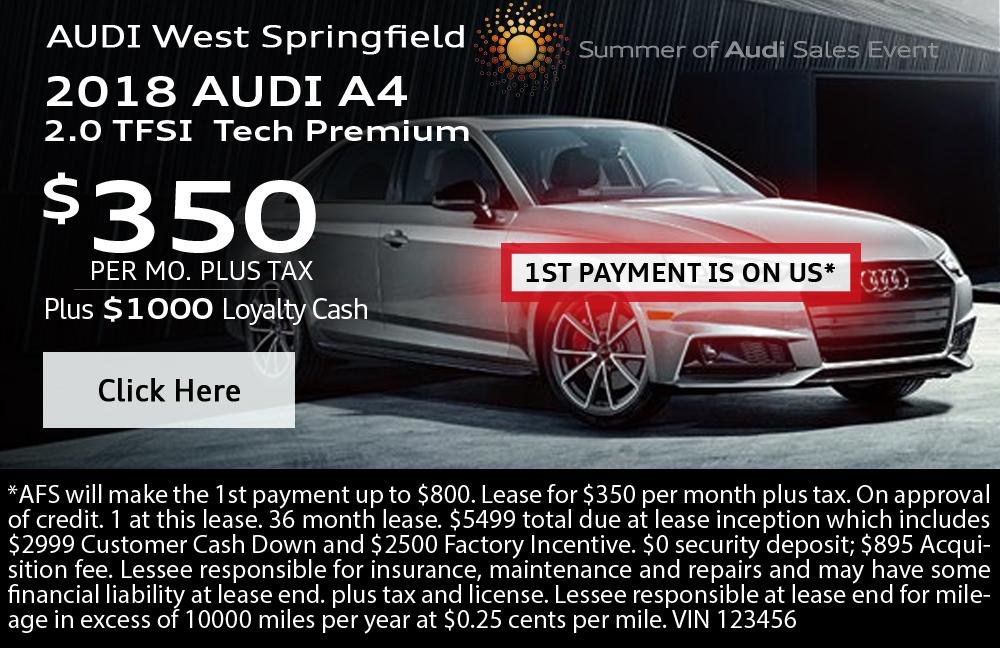 2018 Audi A4 2.0 TFSI Tech Premium