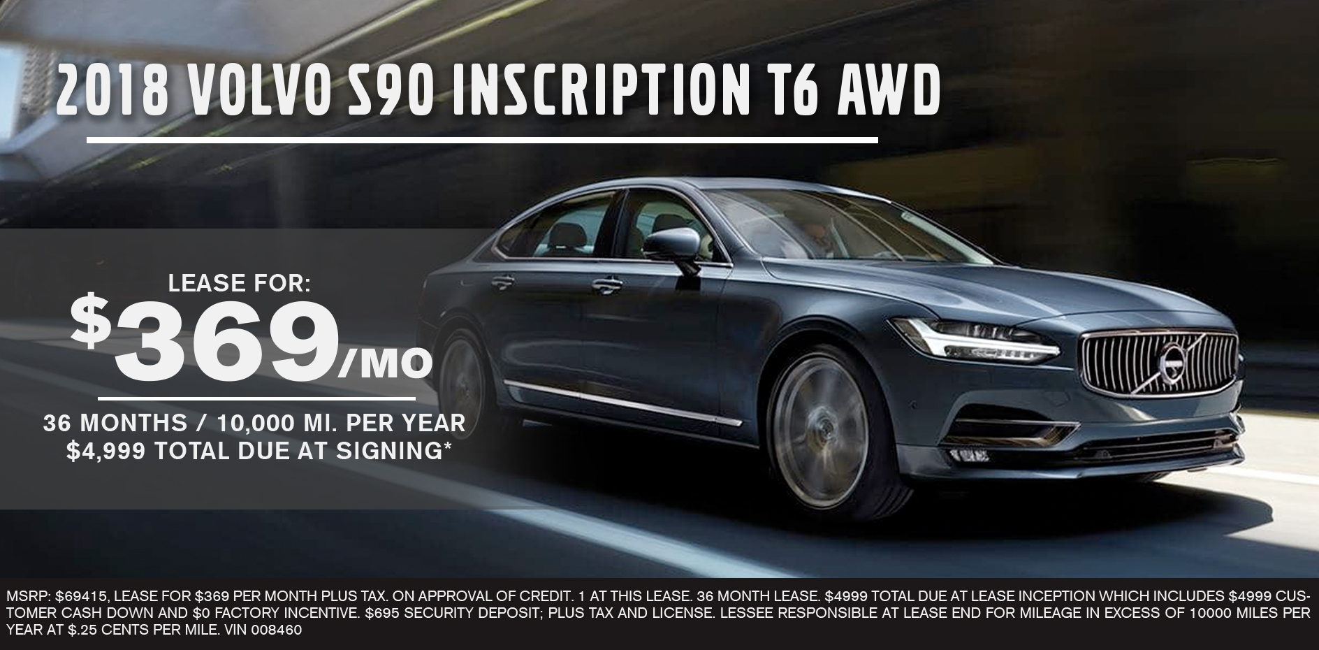 2018 Volvo S90 Inscription T6 AWD