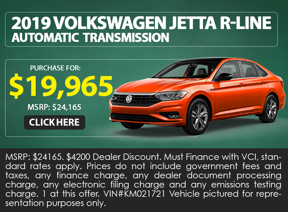 2019 Volkswagen Jetta R-Line Automatic Transmission