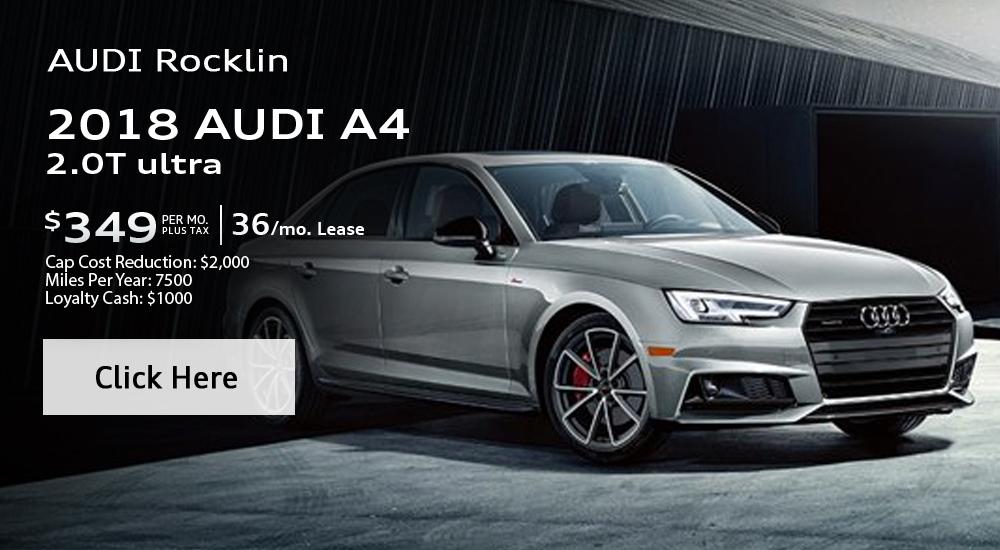 2018 Audi A4 2.0T ultra