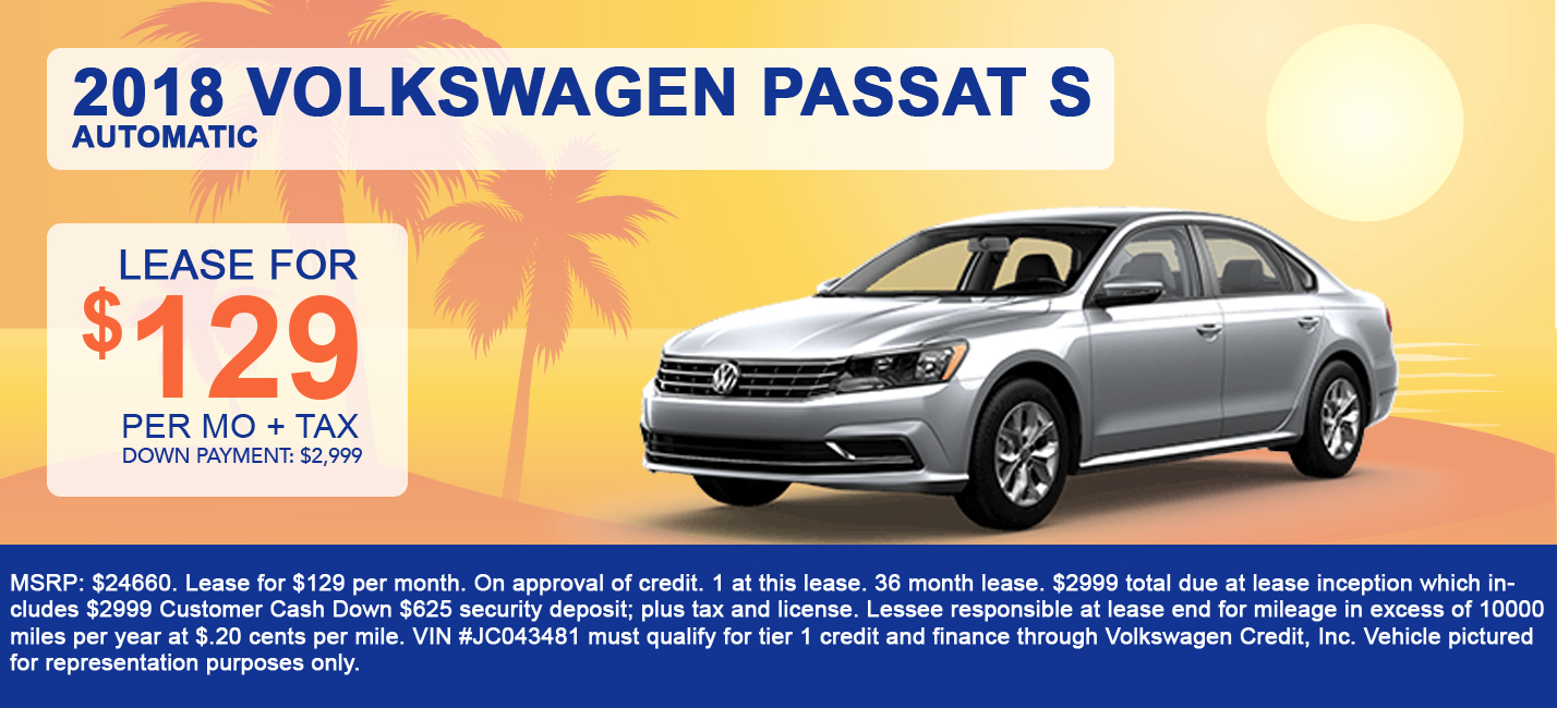 2018 Volkswagen Passat S Automatic