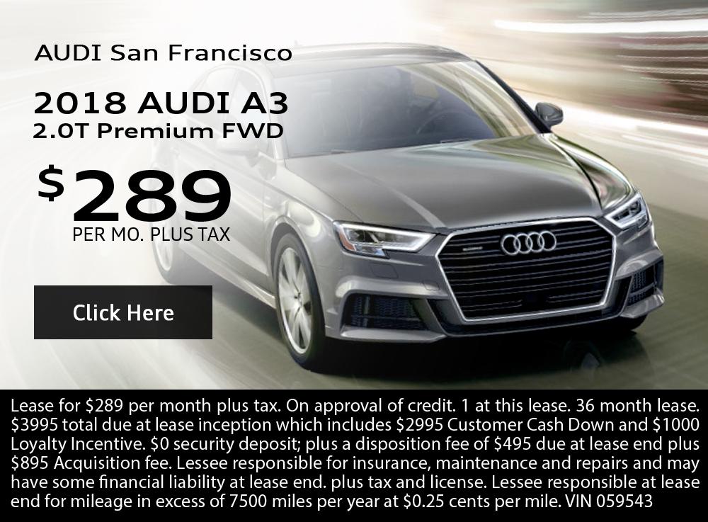2018 Audi A3 2.0T Premium FWD