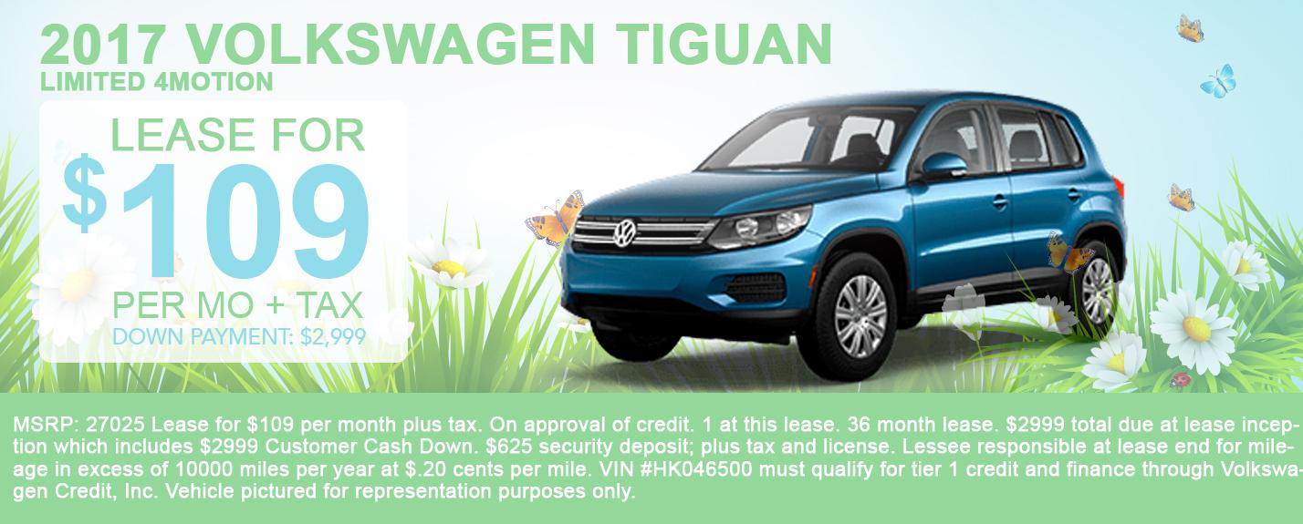 2017 Volkswagen Tiguan Limited 4Motion