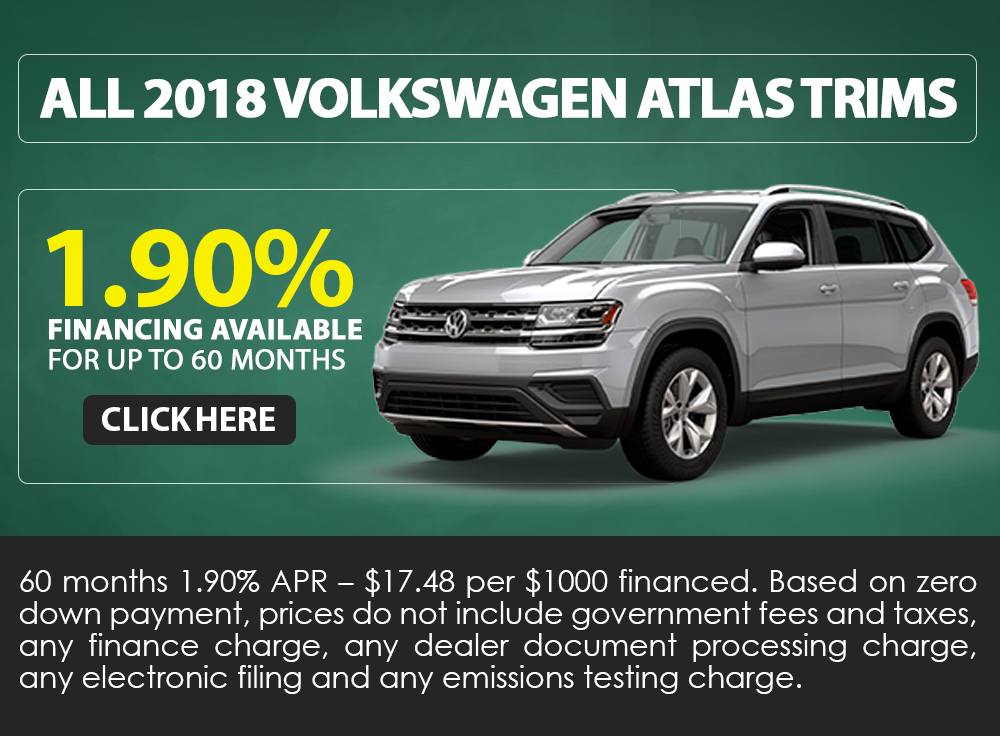All 2018 Volkswagen Atlas Trims