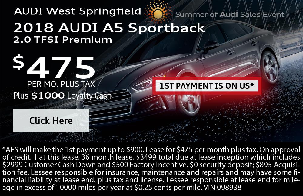 2018 Audi A5  Sportback 2.0 TFSI Premium