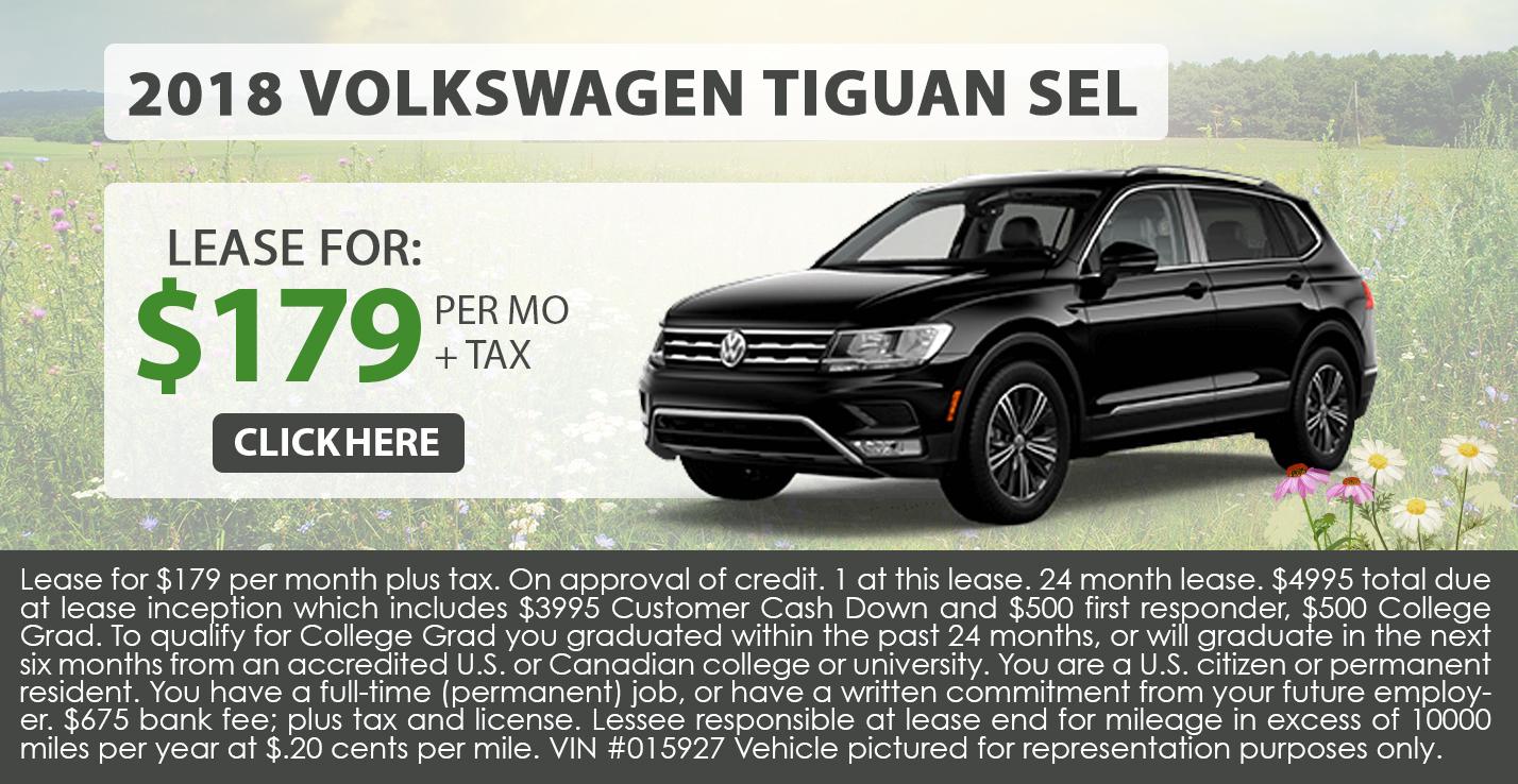 2018 Volkwagen Tiguan SEL