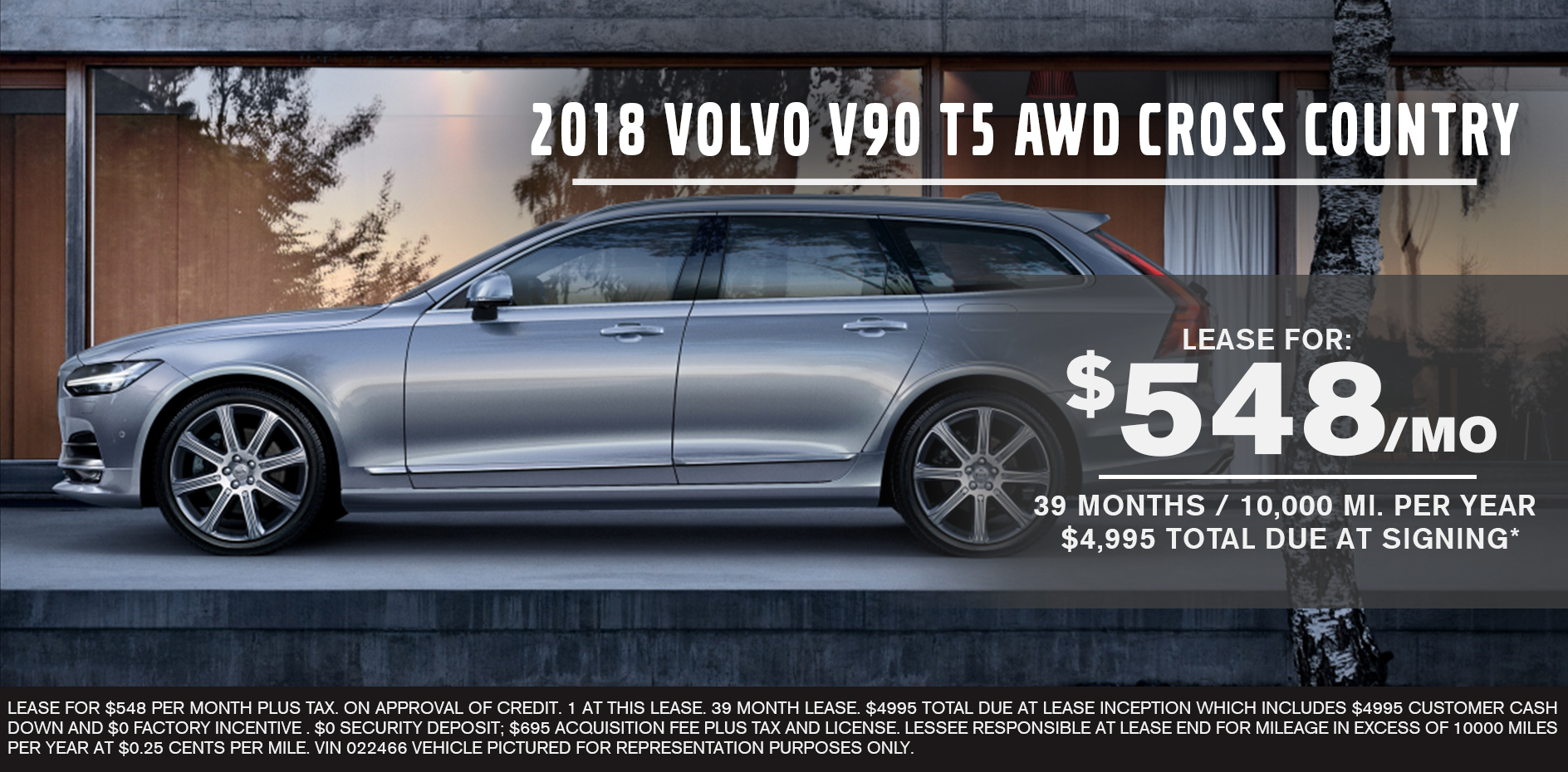 2018 Volvo V90 T5 AWD Cross Country