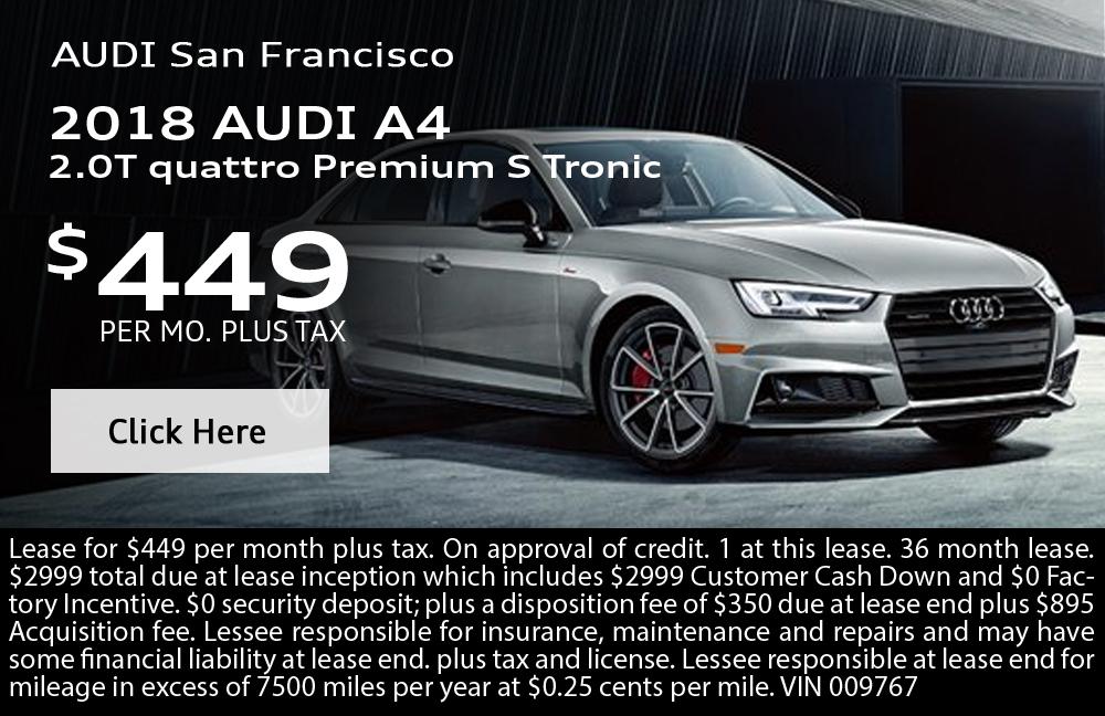 2018 Audi A4 2.0T quattro Premium S Tronic