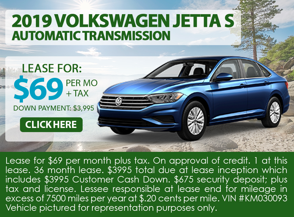 2019 Volkswagen Jetta S Automatic Transmission