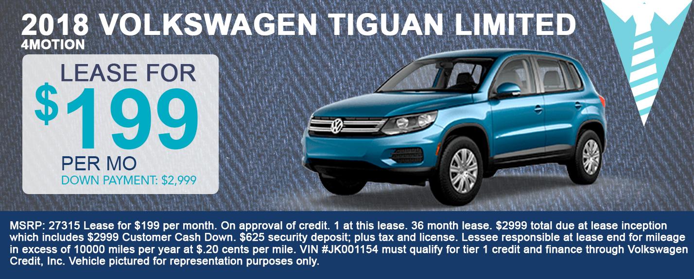 2018 Volkswagen Tiguan Limited 4Motion