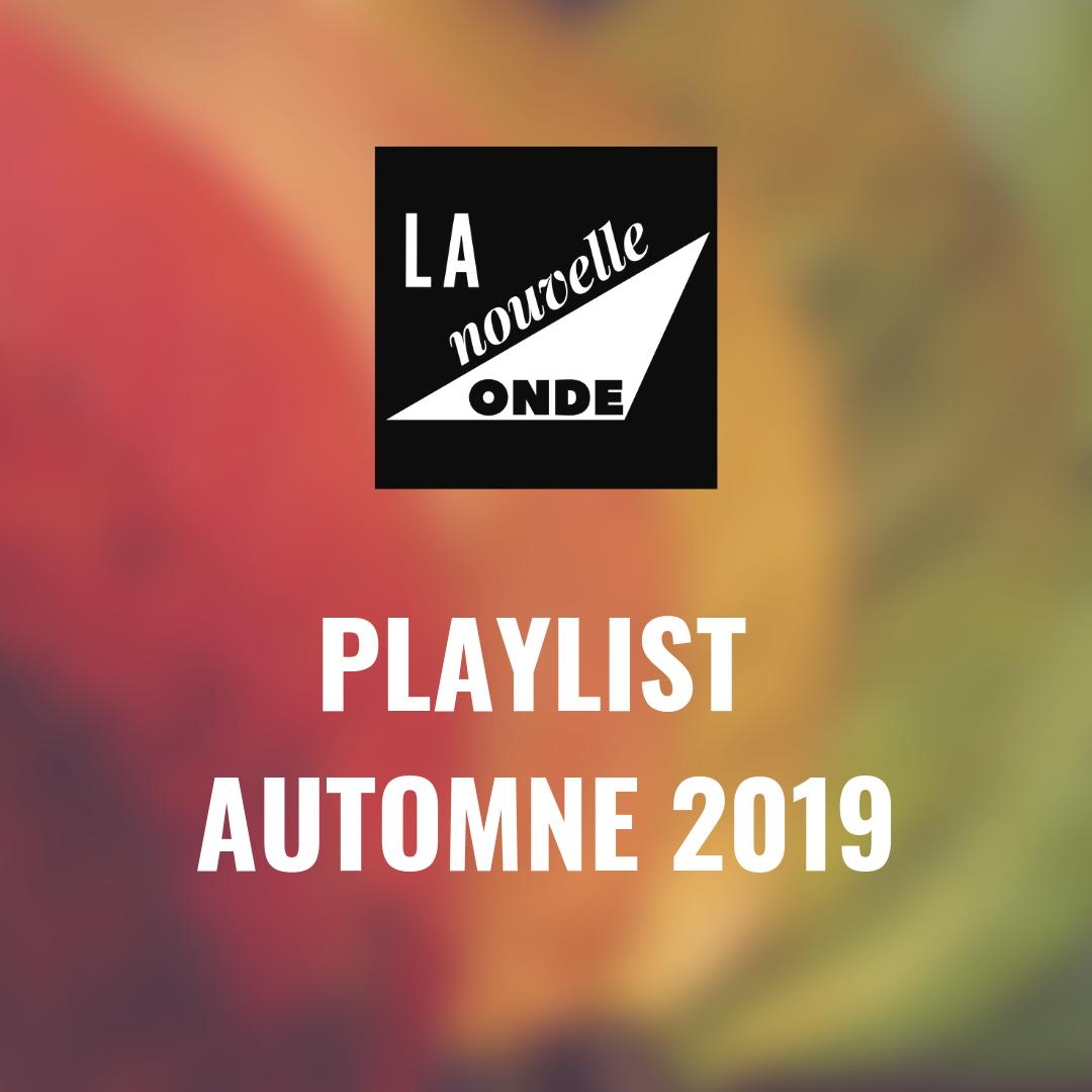 Playlist Automne 2019