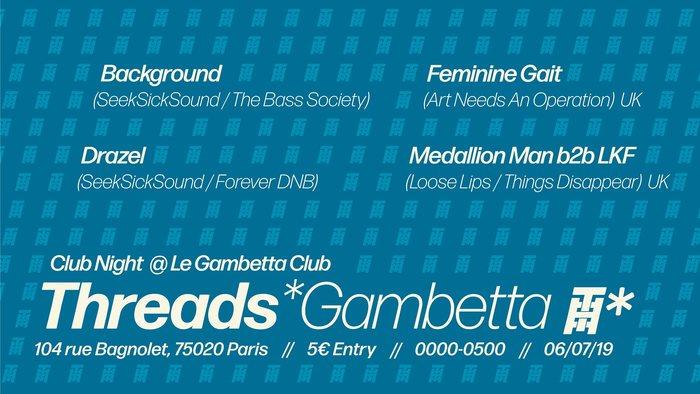 06/07 - Gambetta Club / 75020