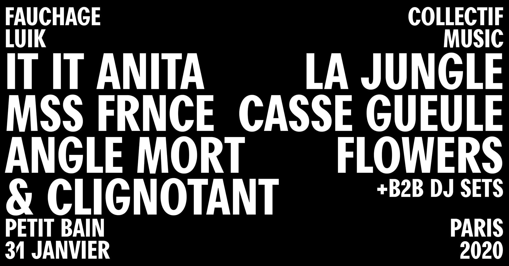 31/01 - Petit Bain @ Paris