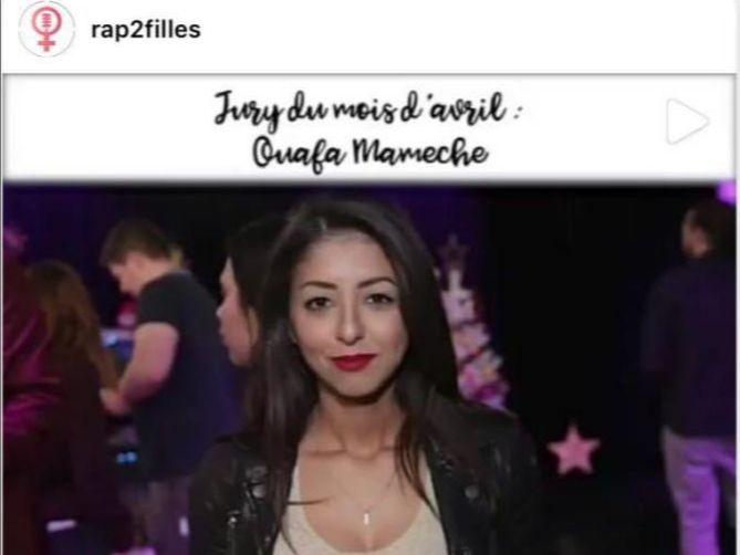 Ouafa Mamèche - @rap2filles