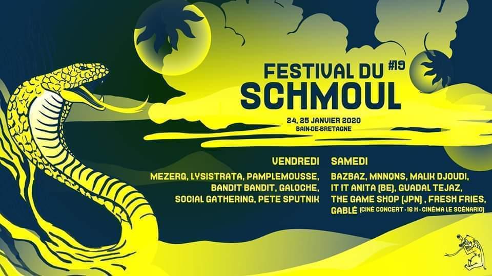 24/01 - Festival du Schmoul @ Bain de Bretagne